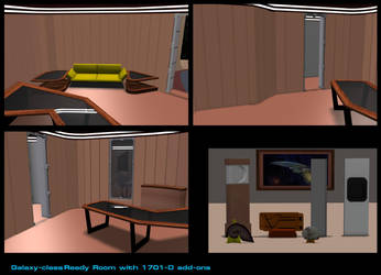 Galaxy-class Ready Room by mdbruffy