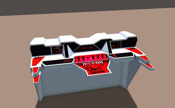 Regula One Transporter Console