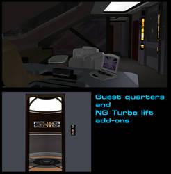 Guest Quarters - Turbo Lift add ons by mdbruffy