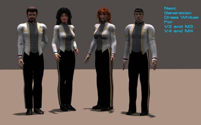 Next Generation Dress Whites by mdbruffy