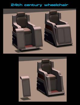 24th century Wheel Chair