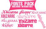 Pack Fonts