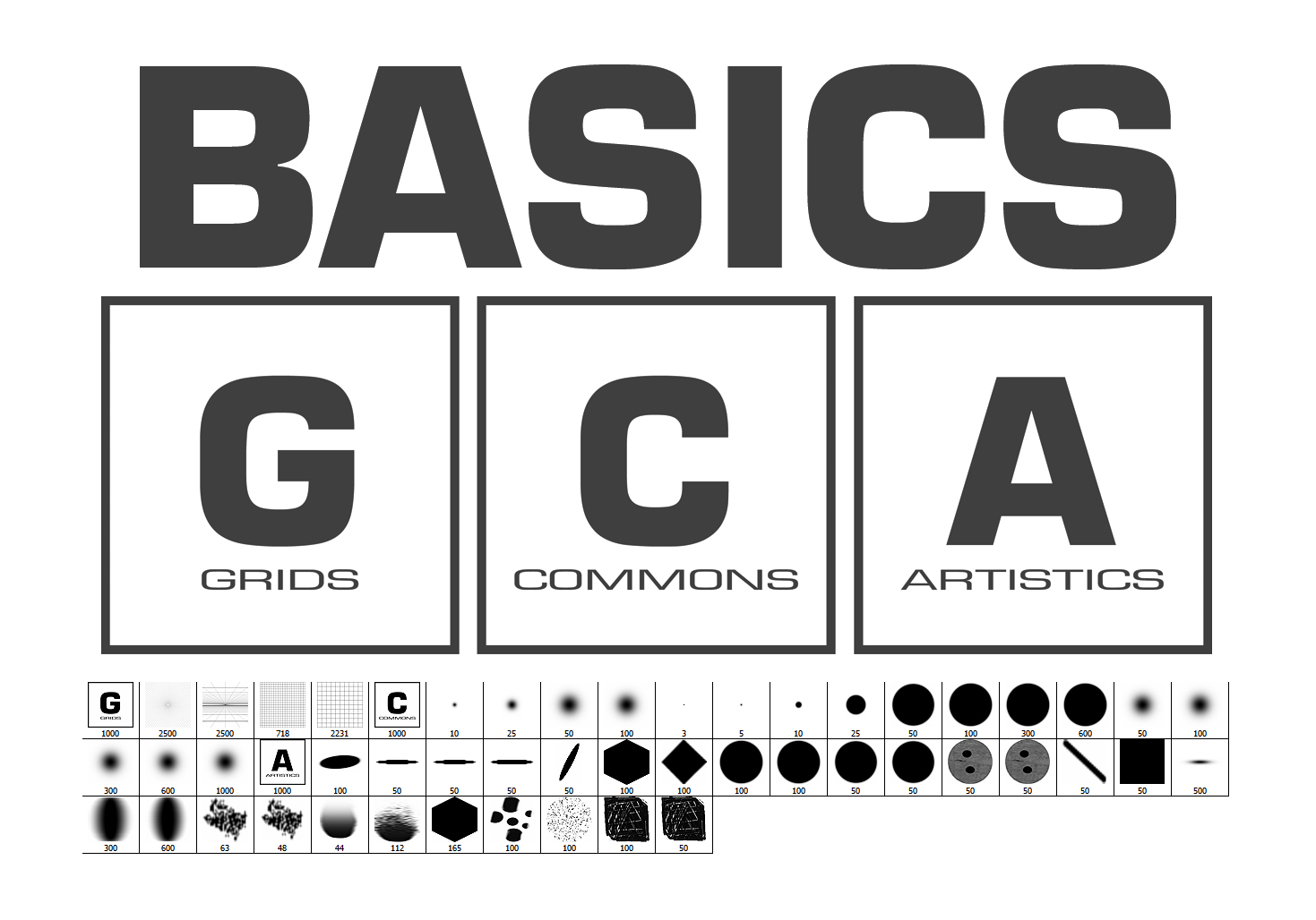 Basics Brushes