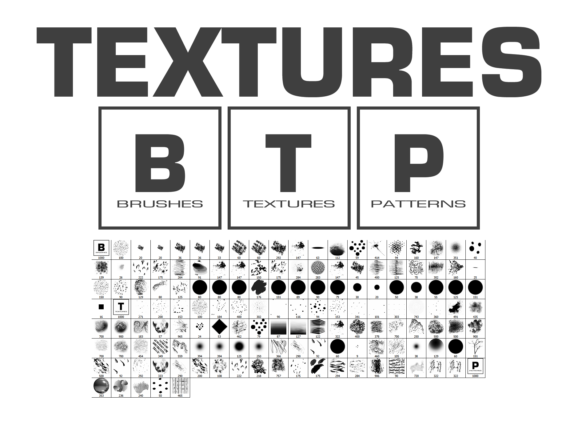Textures Brushes