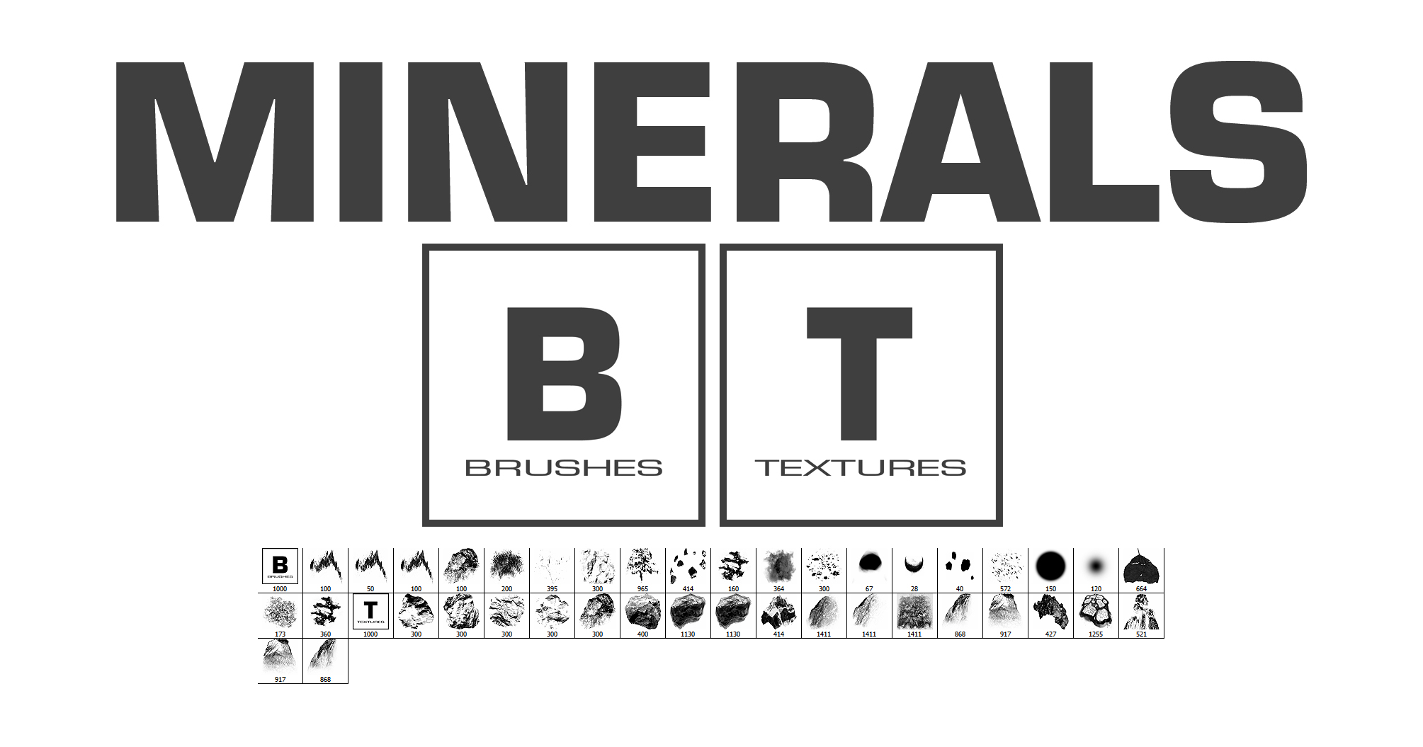 Minerals Brushes