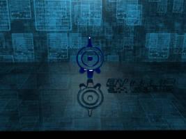3d Code Lyoko logo by DarkTakayanagi