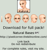 Natural Bases Pack by isoldel