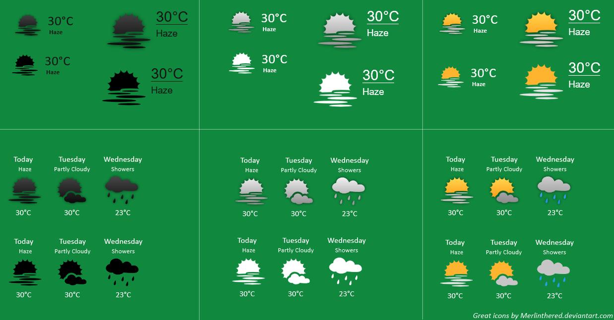 Weather Vector 1.0 by chumeodihia