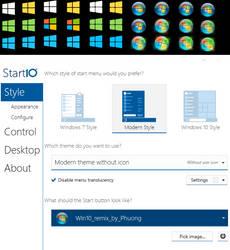 Start Buttons for Start10 and Start8