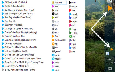 Icons media for Foobar2000 (ver 2.0.1) by chumeodihia