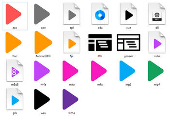 Icons for Foobar2000 (ver 3.0)