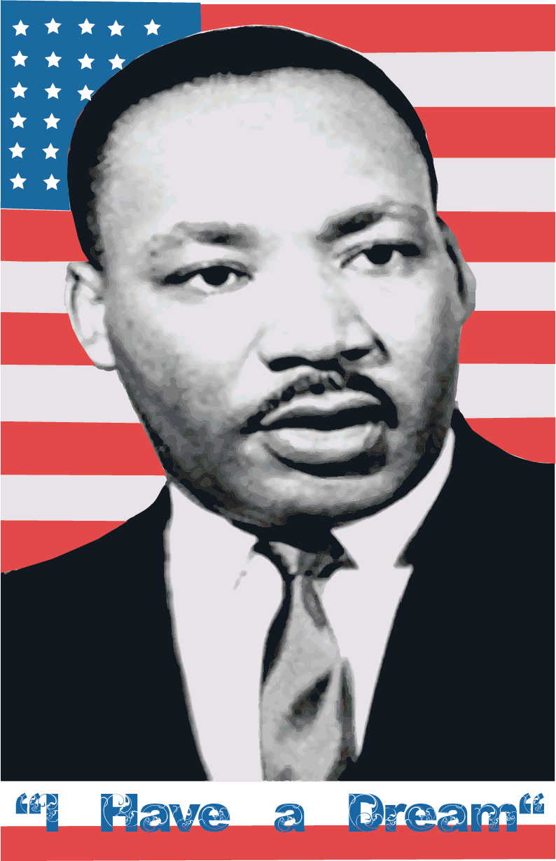 Martin Luther King Jr Constructivism Poster by Rez198 on ...