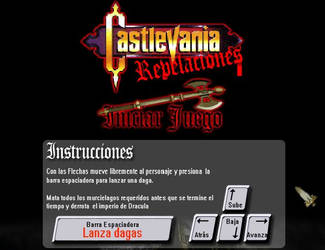 Castlevania Flash Game by melolonta