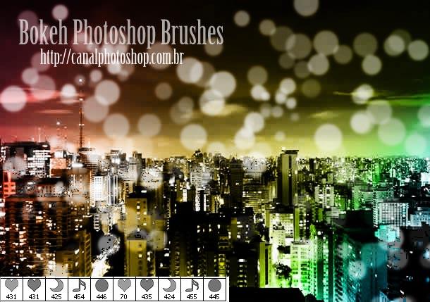 Bokeh Ps Brushes