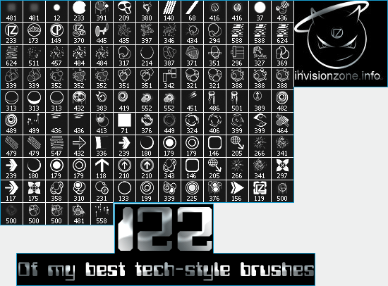 122 Brushes by IZ-Person