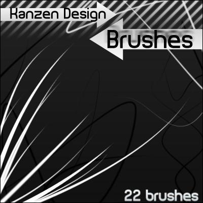 Kanzen Designs - Brushes by IZ-Person