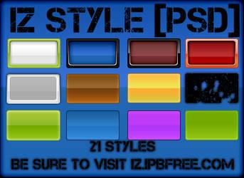 21 IZ Styles by IZ-Person