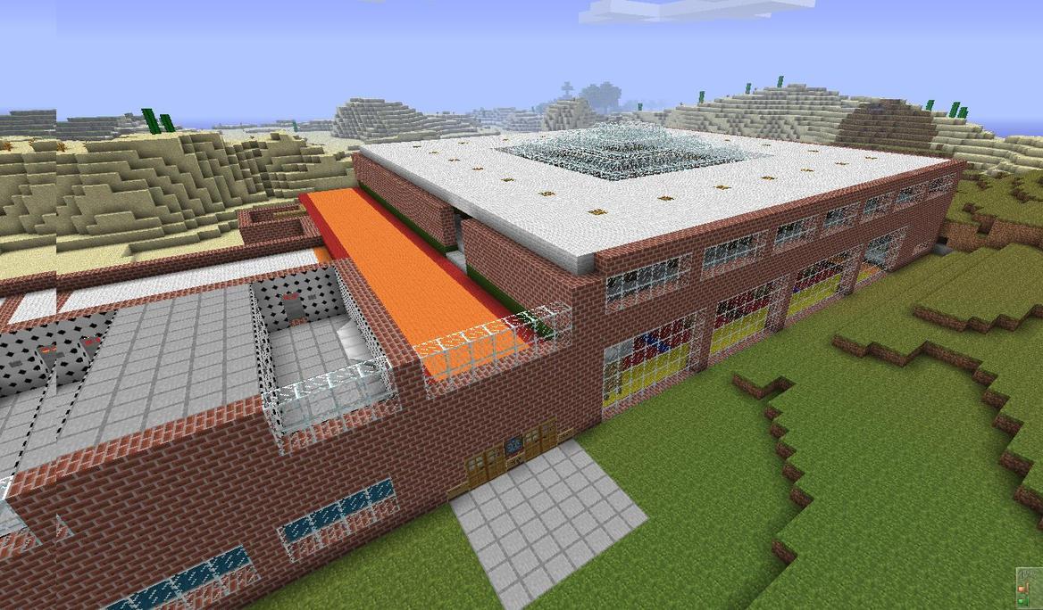 School In Minecraft V01 By Michal1995 On DeviantArt