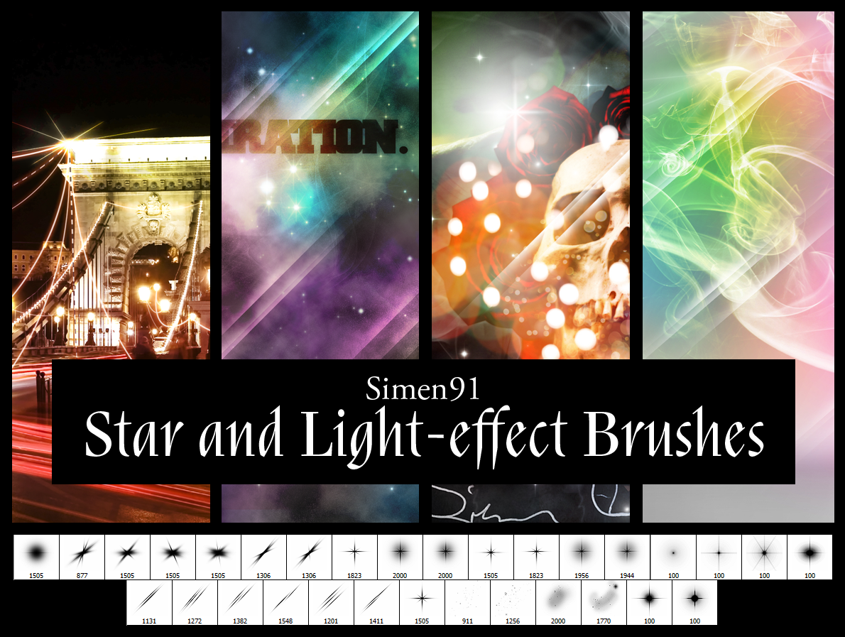 Star and Light-effect Brushes