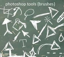 photoshop tools_brushes by Najuj