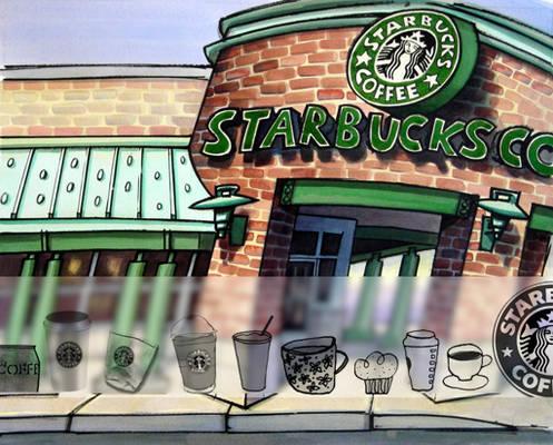 Starbucks::Brushes