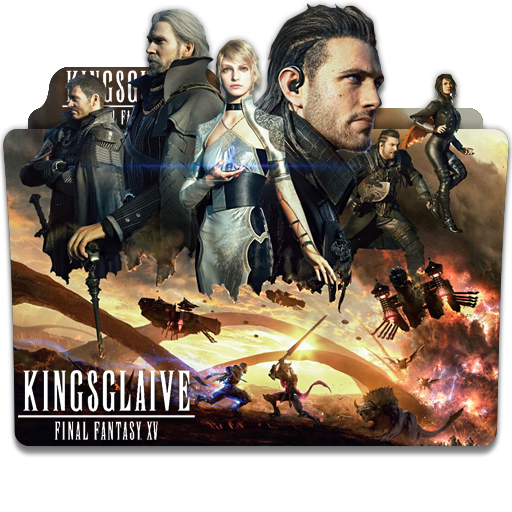 Kingsglaive Final Fantasy Xv 2016 Folder Icon By Eca2424 On