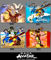 Avatar The Last Airbender (2005) Folder Icon by eca2424