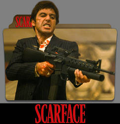 Scarface (1983) Folder Icon by eca2424