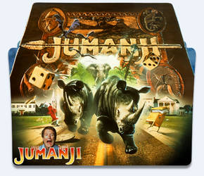 Jumanji (1995) Folder Icon by eca2424