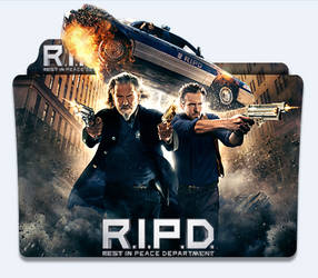R.I.P.D. (2013) Folder Icon by eca2424
