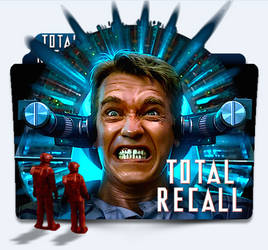 Total Recall (1990) Folder Icon by eca2424