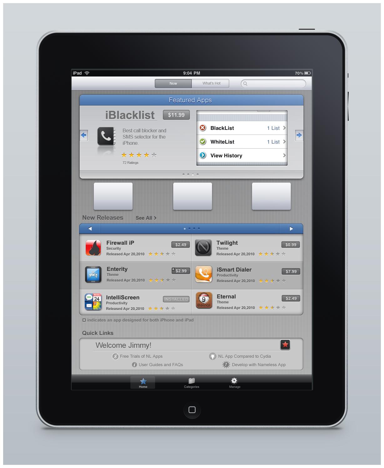 iPad App Psd by montydesi on deviantART