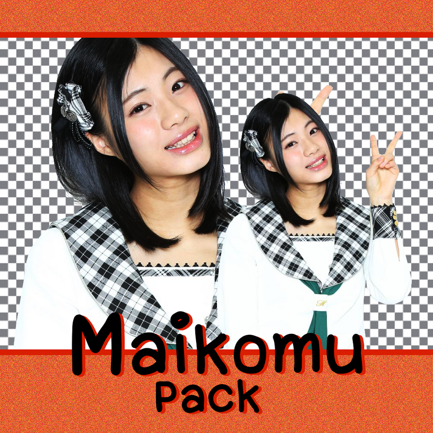 Maikomu (HKT48) PNG (render) by snh48