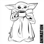 The Child / Baby Yoda (animated)