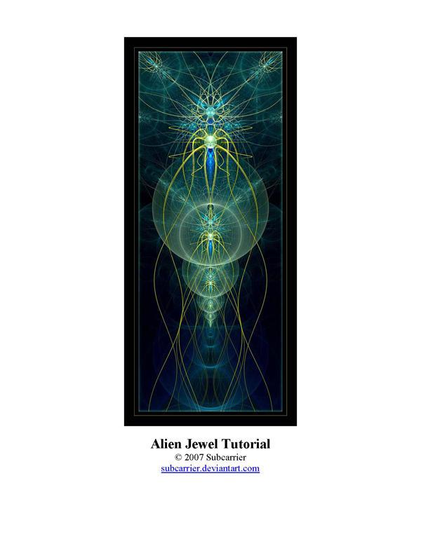 Alien Jewel Tutorial by subcarrier