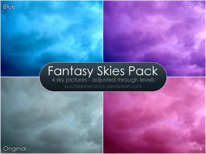 Fantasy Skies Pack by kuschelirmel-stock