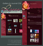 Roses Journal + Gallery CSS