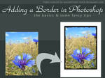 Adding Borders in Photoshop by kuschelirmel-stock