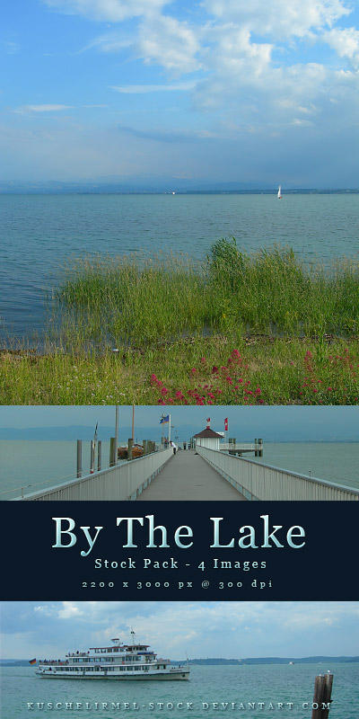 By The Lake - Stock Pack by kuschelirmel-stock