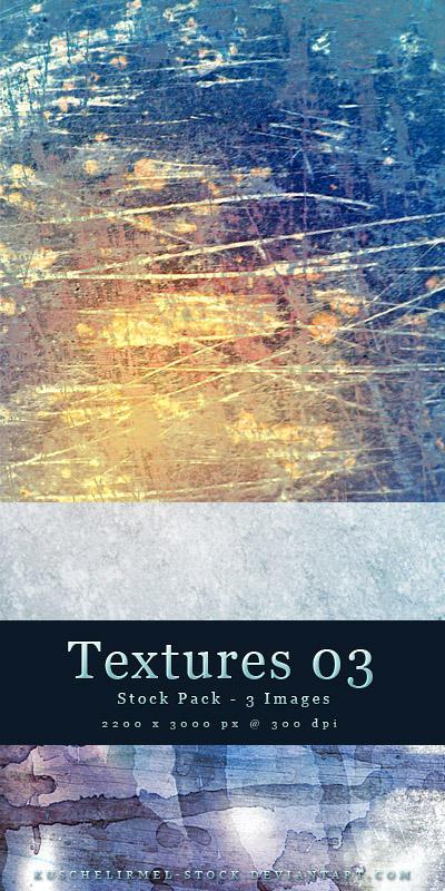 Textures 03 - Stock Pack by kuschelirmel-stock