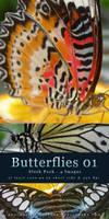 Butterflies 01 - Stock Pack