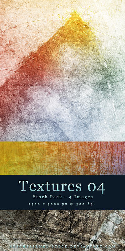 Textures 04 - Stock Pack by kuschelirmel-stock
