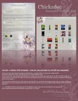 Chickadee Journal+Gallery CSS by kuschelirmel-stock