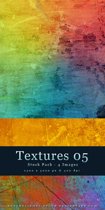 Textures 05 - Stock Pack by kuschelirmel-stock