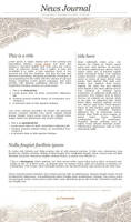 News Paper CSS