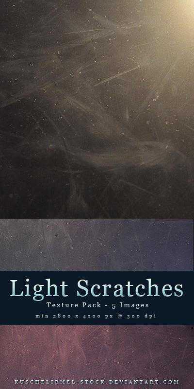Light Scratches Textures by kuschelirmel-stock