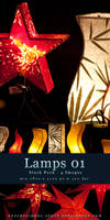 Lamps 01 - Stock Pack by kuschelirmel-stock
