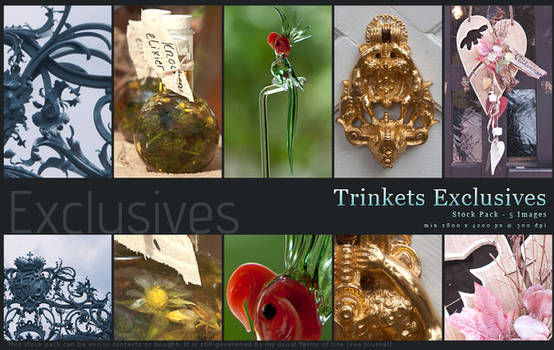 Trinkets Exclusives
