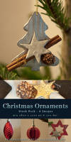 Christmas Ornaments Stock Pack