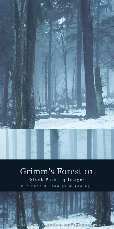 Grim's Forest 01 by kuschelirmel-stock by kuschelirmel-stock
